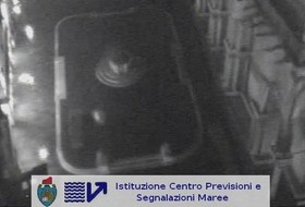 webcam, acqua alta